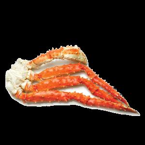 King Crab Poten (gekookt – ingevroren) (± 450gr.)